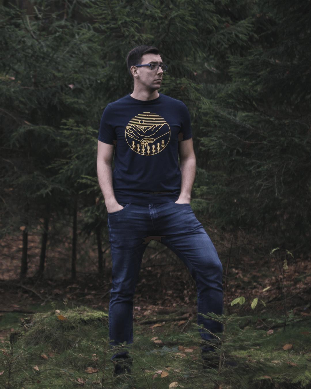 Koszulka Morskie Oko w lesie